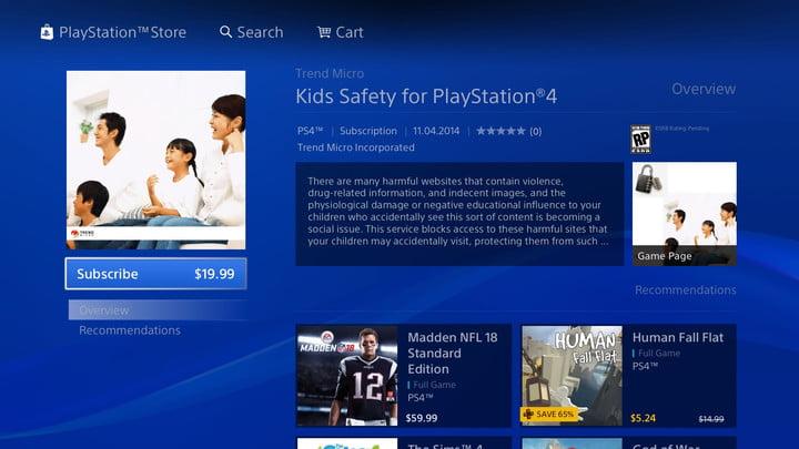 filtre web comment configurer le contrôle parental de la playstation 4