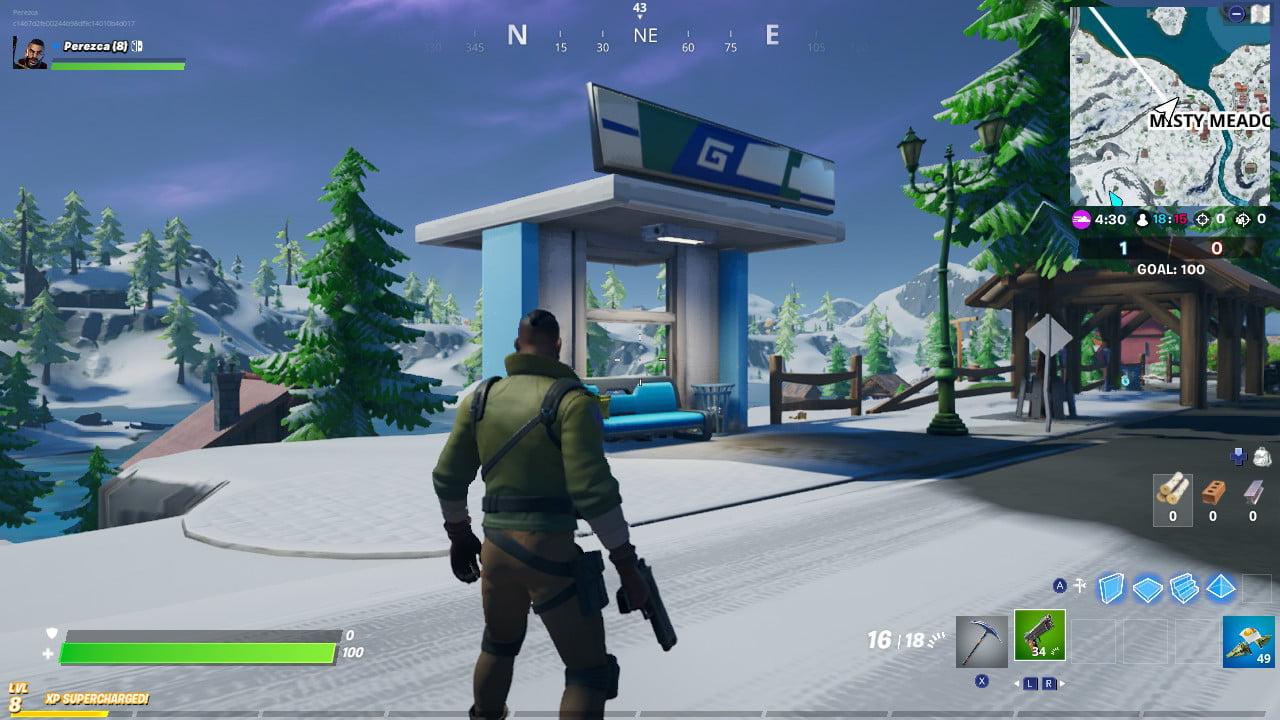 Fortnite - Arrêt de bus de Misty Meadows 2