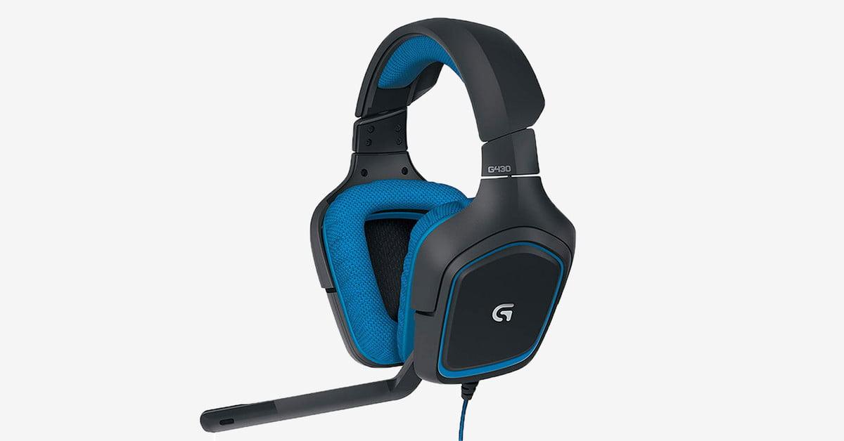 Amazon divise le prix du casque de jeu Logitech G430 par 50 %.