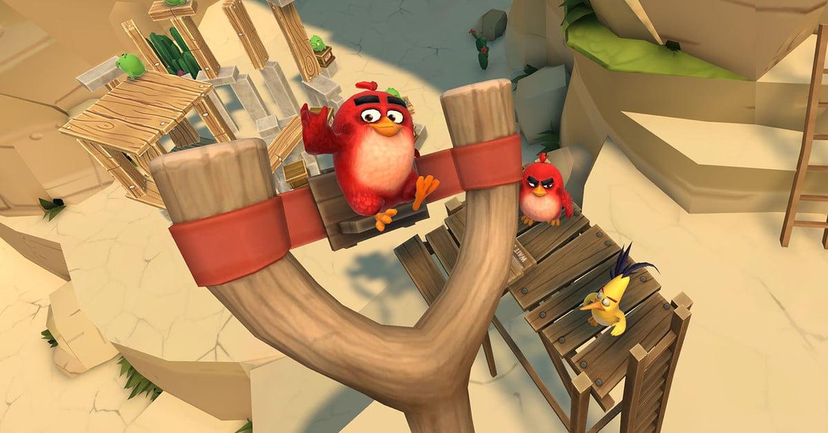 Angry Birds AR : Isle of Pigs fait entrer la démolition en 3D dans votre salon