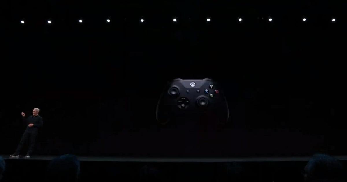 Apple Arcade prendra en charge les manettes de la Xbox One et de la PS4
