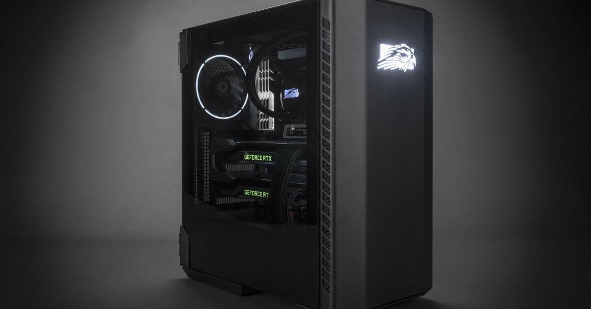 Concours : Participez pour gagner un ordinateur de bureau Falcon Northwest Talon 20th Anniversary Gaming Desktop.