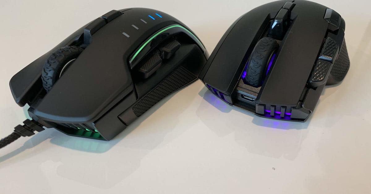 Corsair met l'accent sur la précision du suivi et le confort avec ses dernières souris.