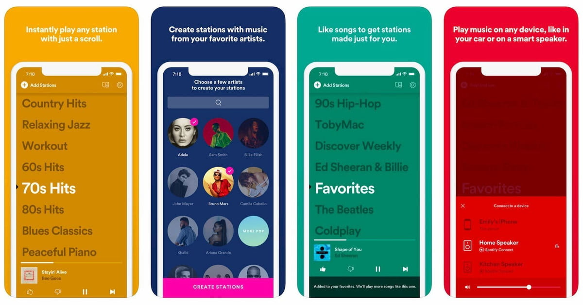 Digital Trends Live : Spotify lance des stations, les kiosques de train d'Amazon au Royaume-Uni