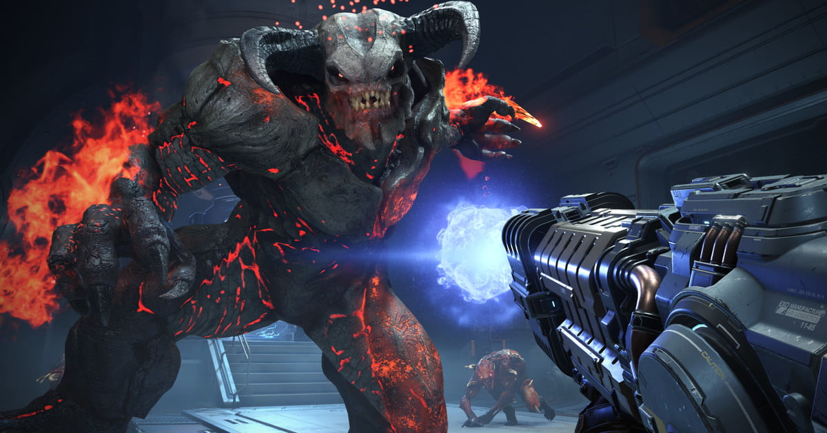 Doom Eternal Stays Old-School, Won't Have Microtransactions