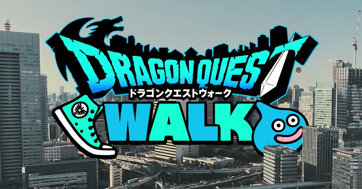 Dragon Quest Walk est un jeu de RA similaire à Pokémon Go