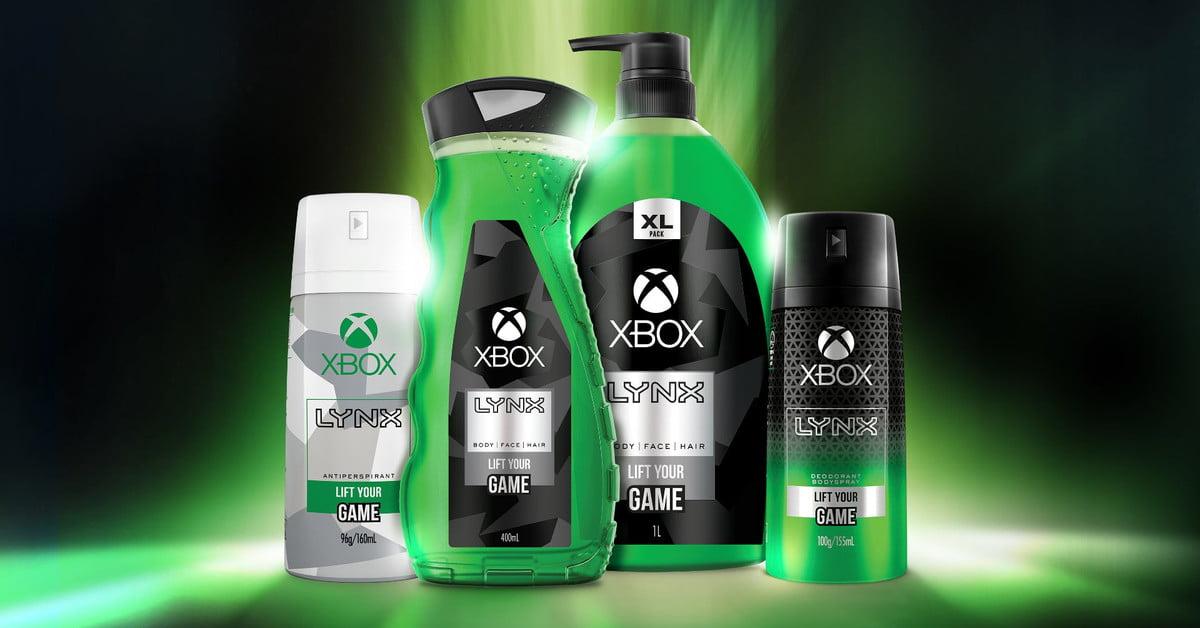 Eau de Xbox : Lynx crée des produits de soins personnels sur le thème des jeux vidéo
