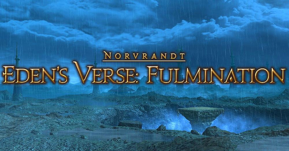 FFXIV E5 Normal Guide : FFXIV Fulmination du verset d'Eden