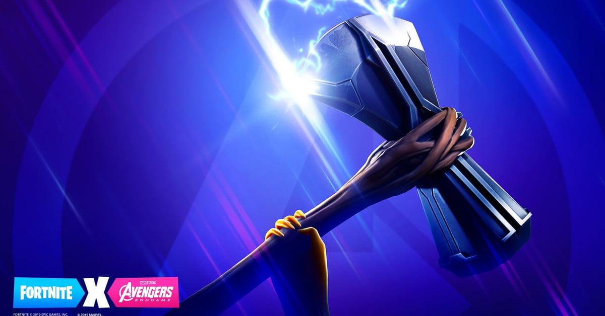 Fortnite dévoile le Stormbreaker de Thor pour l'événement Avengers : Endgame