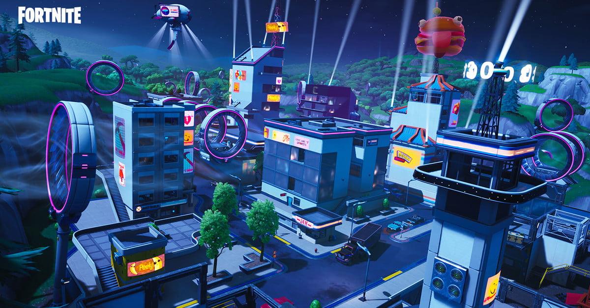 Guide des cartes de la saison 9 de Fortnite : Neo Tilted, Mega Mall, Pressure Plant, et plus encore