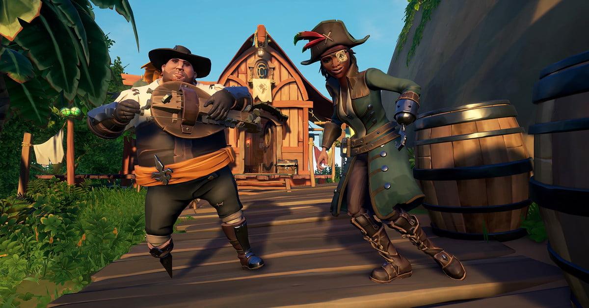 Invitez vos amis à jouer à Sea of Thieves gratuitement à partir du 6 février