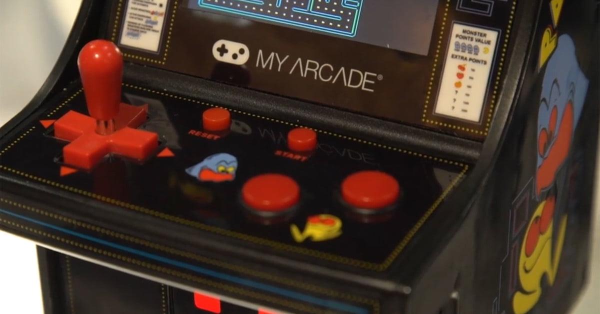 Jeux Bandai Namco Come To My Arcade Mini Cabinets