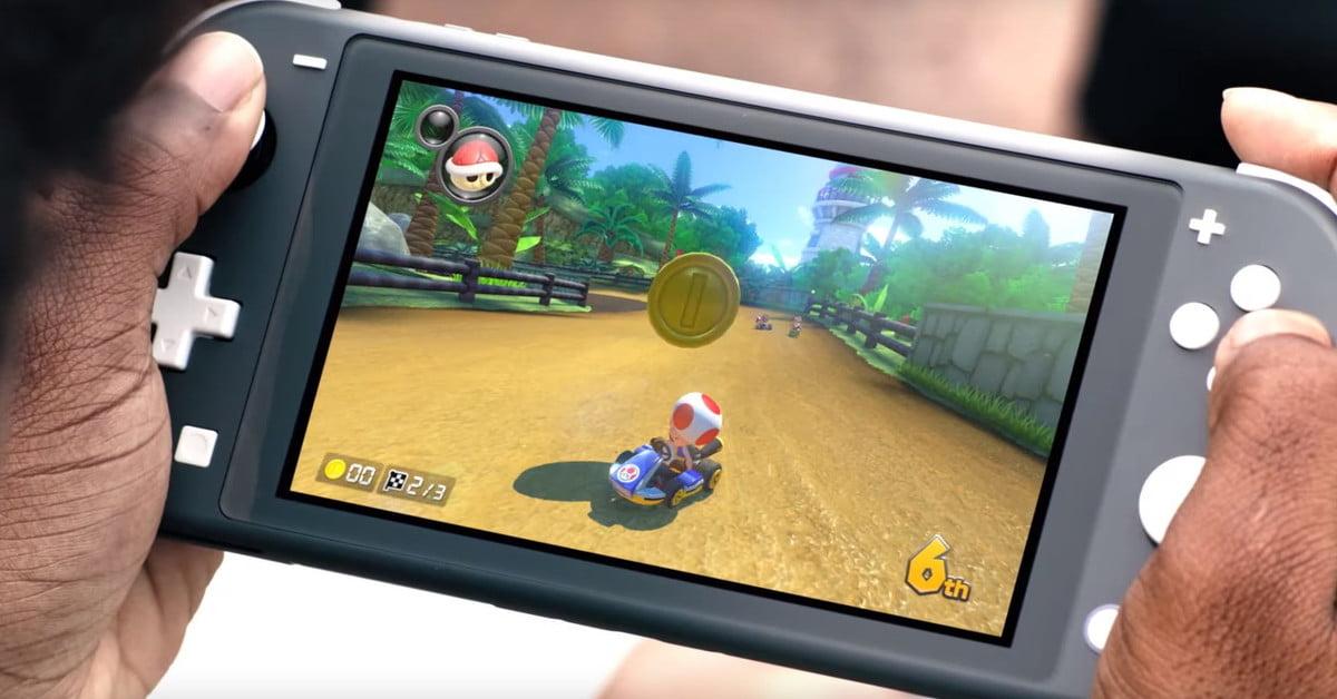 La Nintendo Switch Lite est désormais disponible en pré-commande
