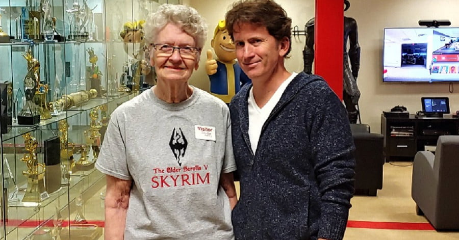 La grand-mère de Skyrim sera dans The Elder Scrolls 6 grâce à la technologie de photogrammétrie