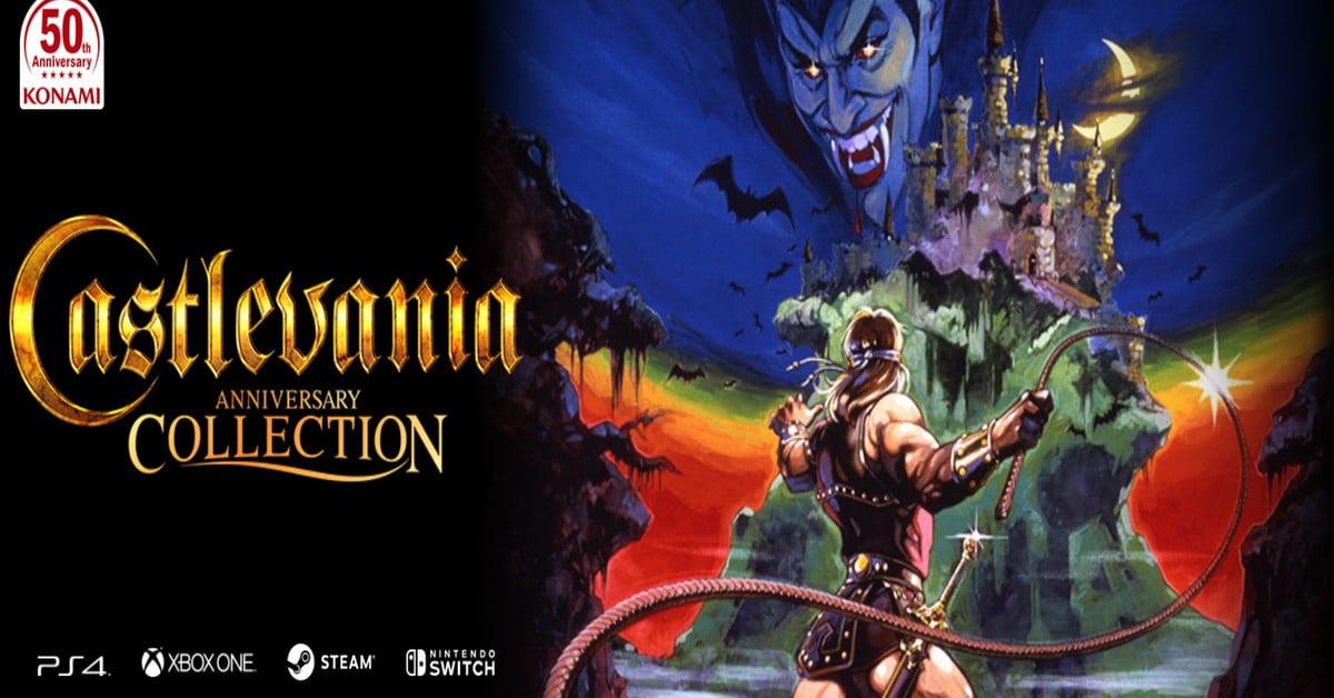 La liste complète des jeux de la Castlevania Anniversary Collection est dévoilée.