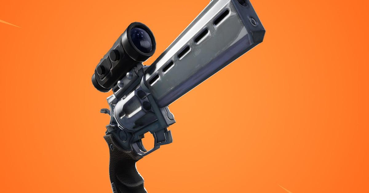 La mise à jour 7.20 de Fortnite ajoute un revolver à lunette et ramène le planeur.