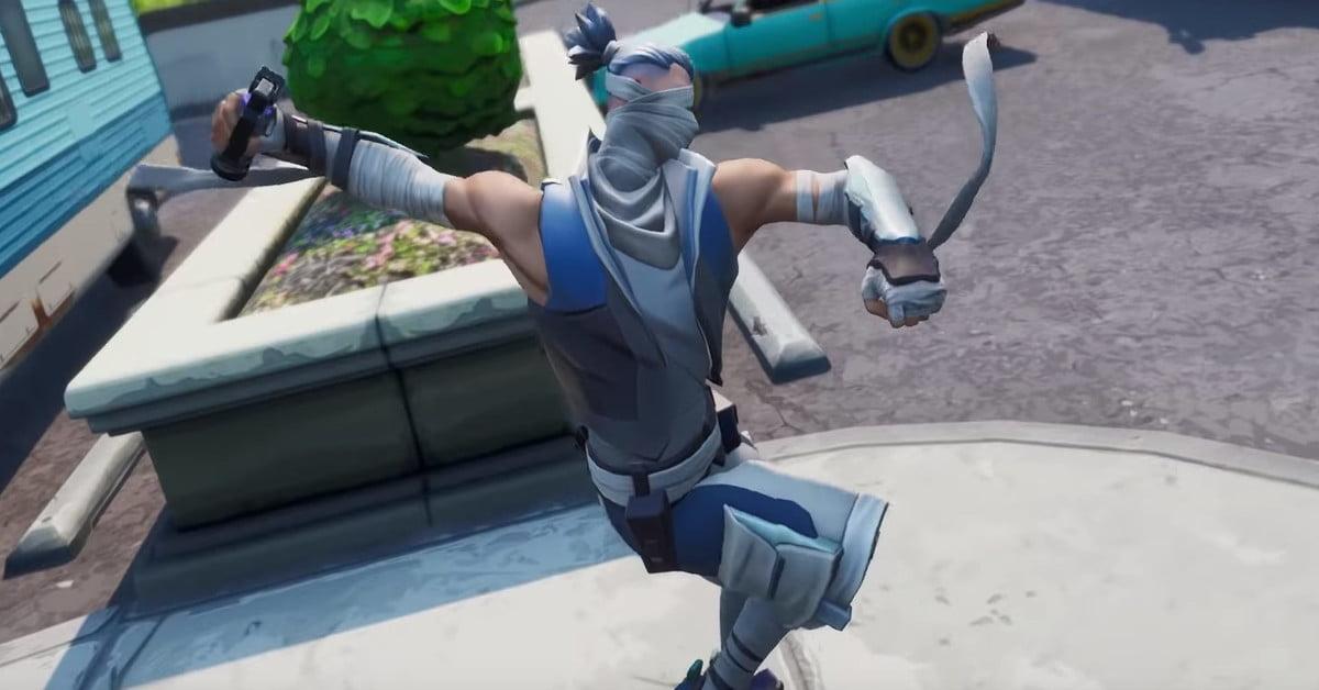 La nouvelle bombe d'ombre de Fortnite v8.51 vous transforme en ninja invisible.
