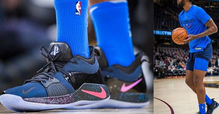 La star de la NBA Paul George fait équipe avec PlayStation pour la basket Nike PG2