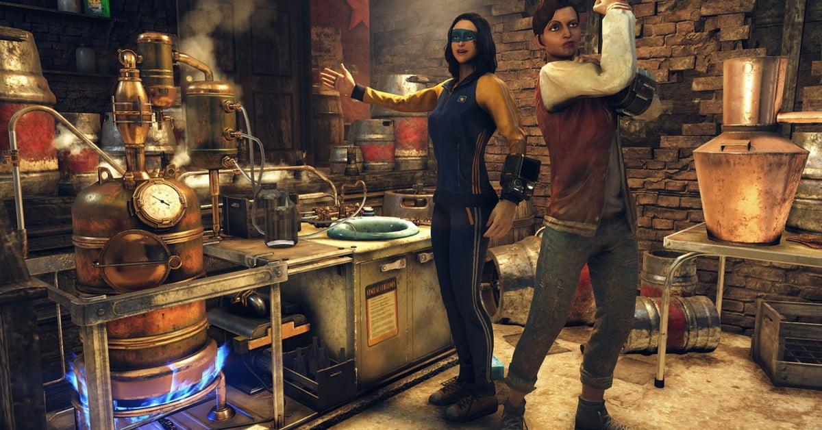 La station de brassage de Fallout 76 permettra aux joueurs de fabriquer de la bière et du vin.