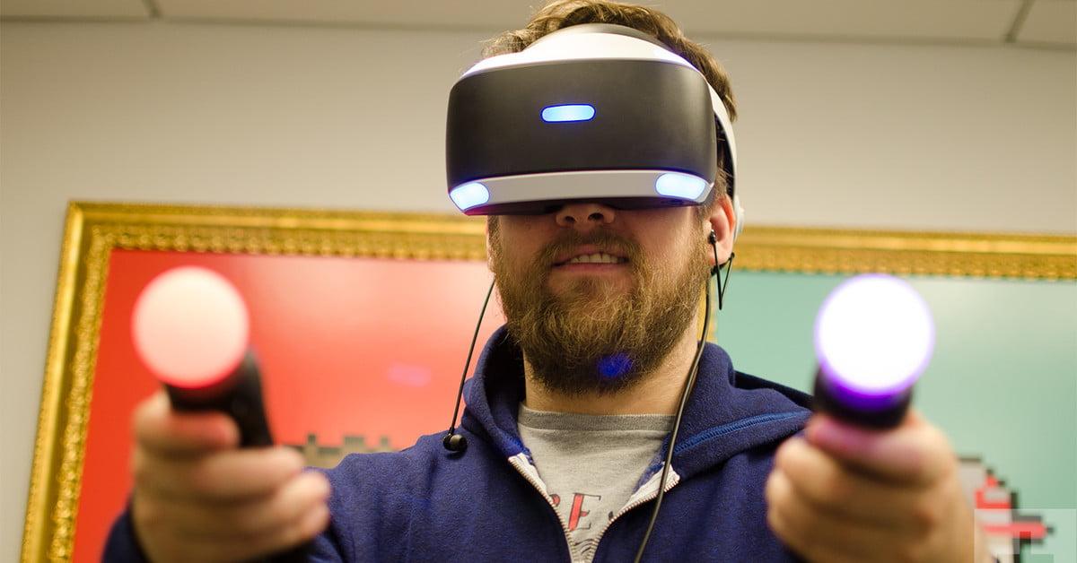 Le Playstation VR pourrait s'améliorer grâce à de nouveaux brevets de contrôleurs de mouvement