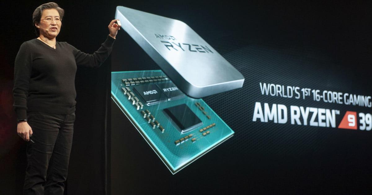 Le Ryzen 9 3950X d'AMD est le premier processeur 16 cœurs pour le jeu.