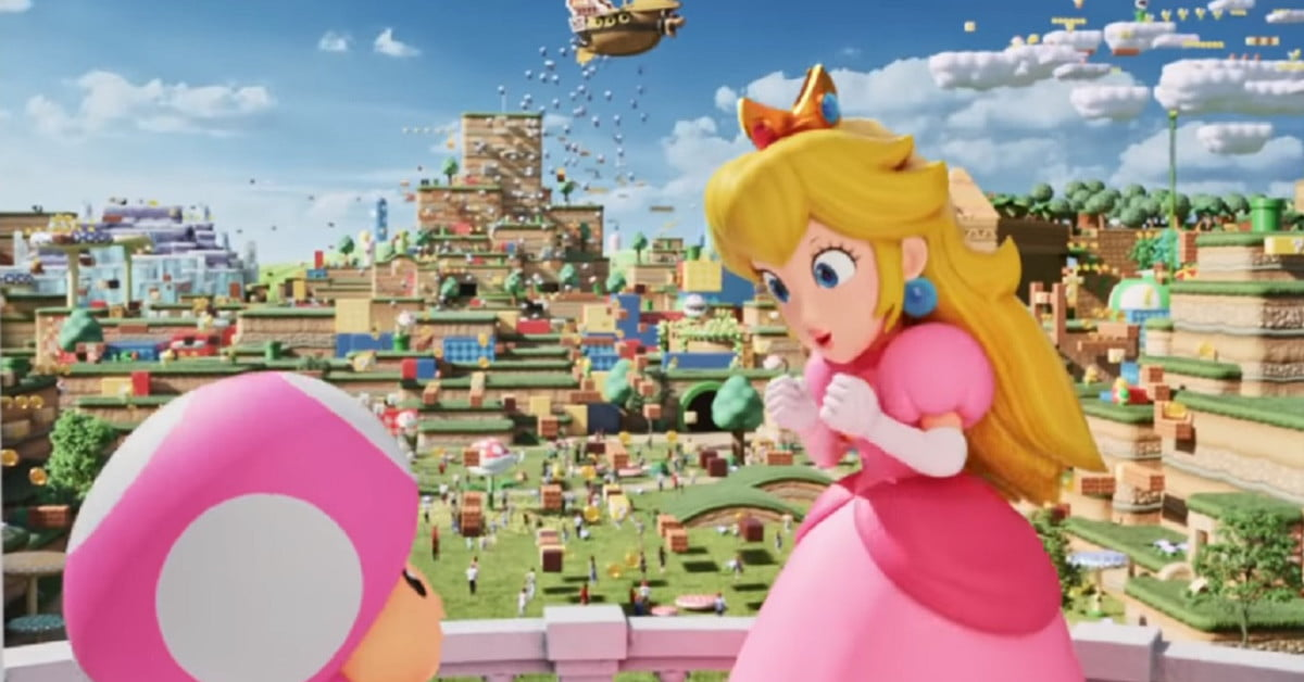Le Super Nintendo World ouvre en 2023 à l'Epic Universe d'Orlando