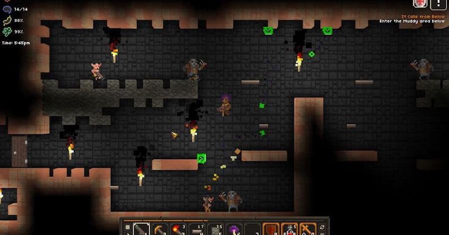 Le créateur de 'Diablo' dévoile 'It Lurks Below', un Rogue-Like développé en solo.