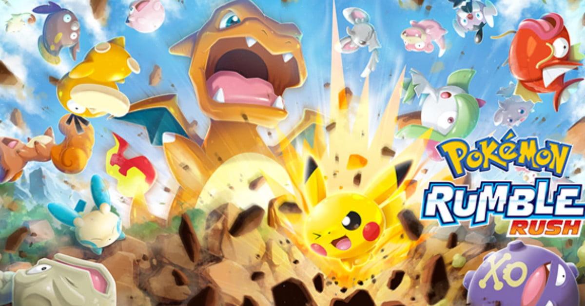 Le jeu mobile gratuit Pokémon Rumble Rush est en ligne en Australie