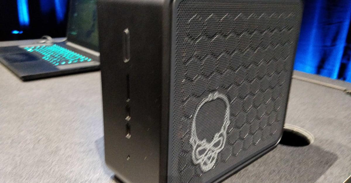 Le kit NUC 9 Extreme et le Compute Element d'Intel font des PC modulaires une chose.