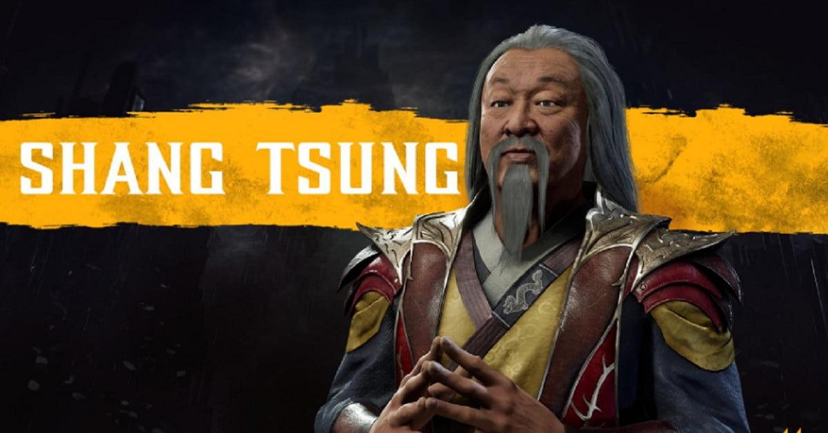 Le premier DLC de Mortal Kombat 11 est Shang Tsung, interprété par un acteur de 1995.