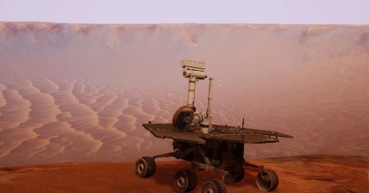 Le simulateur d'atterrisseur de Mars vous permet de faire un dernier tour avec le rover Opportunity