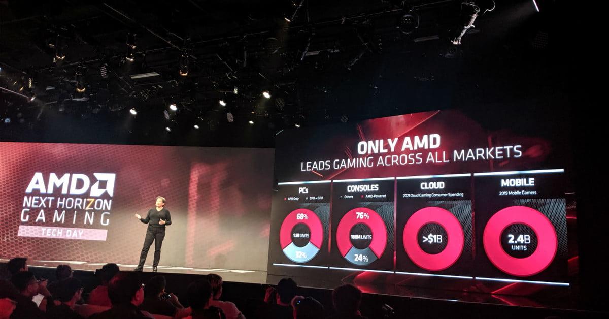 Le véritable avantage des puces AMD de nouvelle génération n'est pas la puissance, mais les plates-formes.