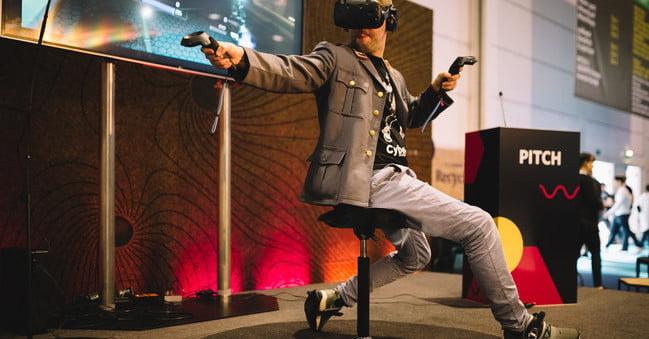 Les cybershoes m'ont permis de me balader dans Skyrim. C'était génial.