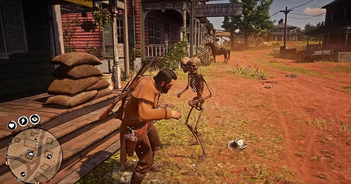 Les joueurs de Red Dead Online se font attaquer par des squelettes malhonnêtes.