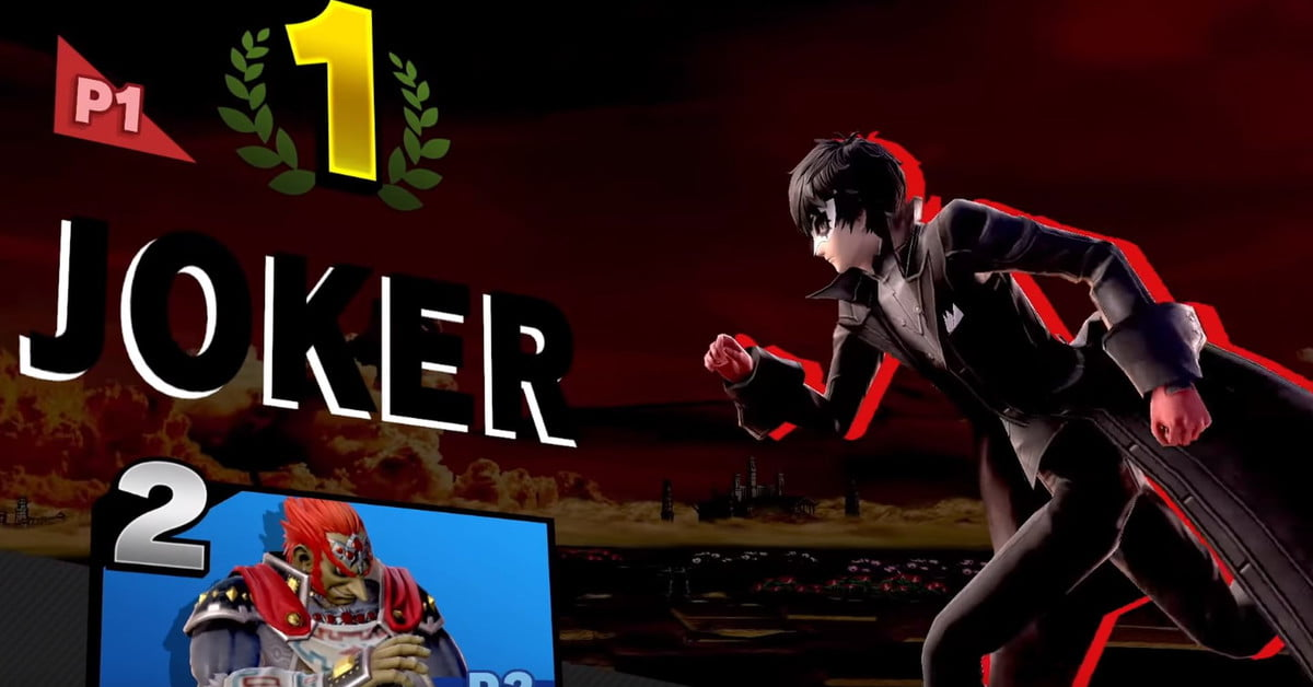 Les joueurs professionnels de Super Smash Bros. Ultimate réagissent à la révélation du gameplay du Joker.