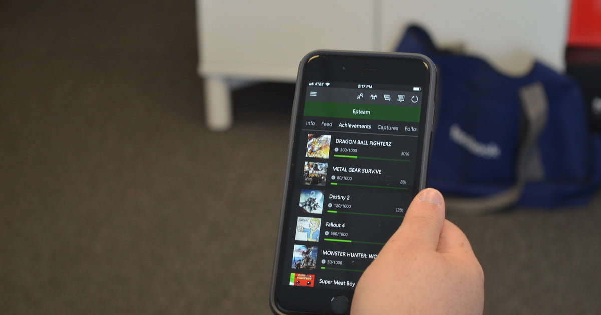 Les réalisations Xbox arrivent sur iOS et Android