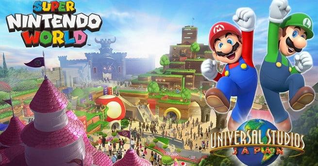 L'ouverture du parc à thème Super Nintendo World est reportée