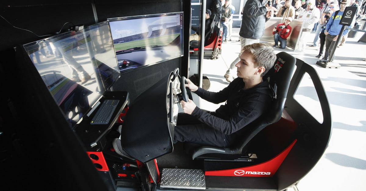 Mazda et iRacing lancent une recherche nationale de talents en conduite automobile :