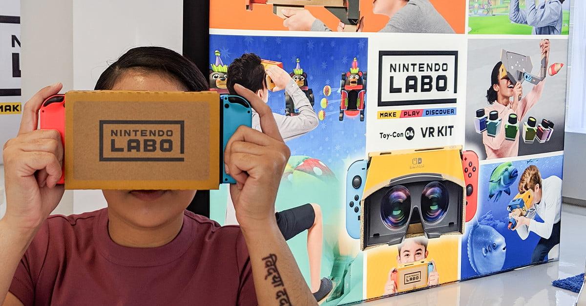 Mise en main du kit Nintendo Labo VR : Ouvrir une voie merveilleuse pour les jeux Nintendo en RV