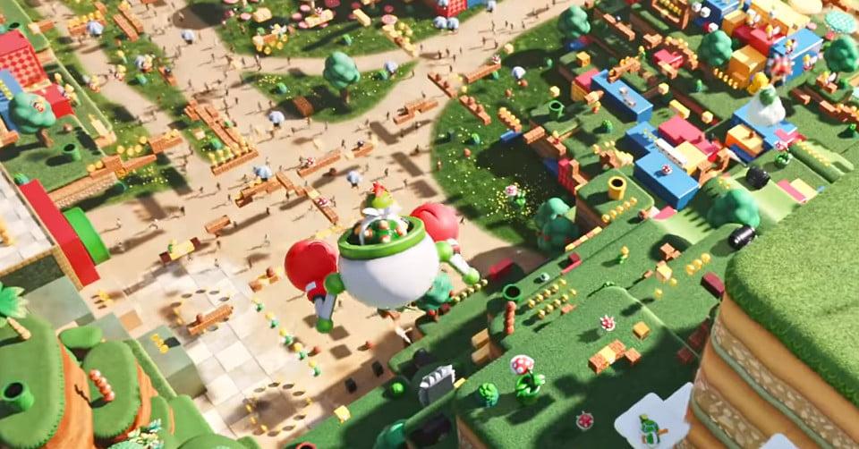 Nintendo met en avant l'ouverture du Super Nintendo World avec une vidéo musicale délirante.