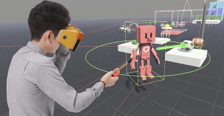 Nintendo présente les nombreuses activités du Labo : VR Kit