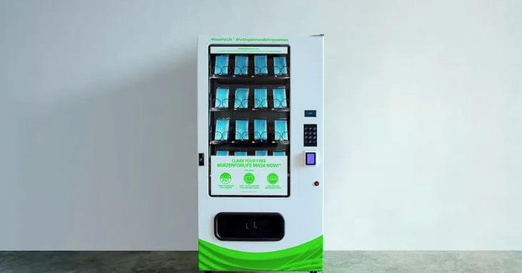 Razer a créé un distributeur automatique de masques faciaux gratuits