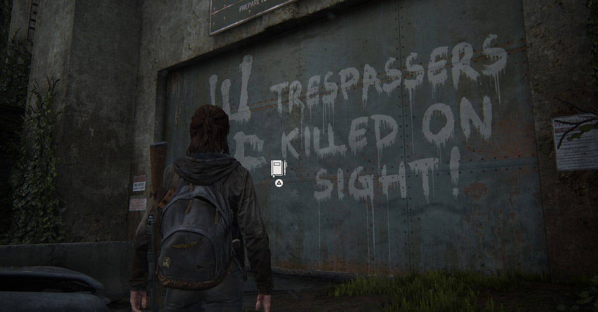 The Last of Us Part II : Tous les emplacements des entrées du journal.