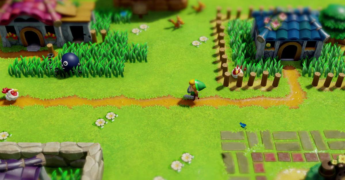 The Legend of Zelda : Link's Awakening est attachant et glorieusement bizarre.