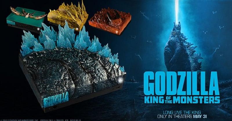 Tirage au sort d'une Xbox One X sur le thème de Godzilla