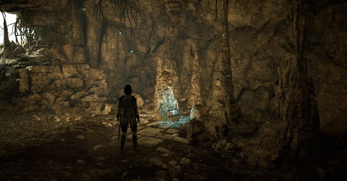 Trouvez un œuf de Pâques du Dernier Gardien dans Shadow of the Colossus sur PS4