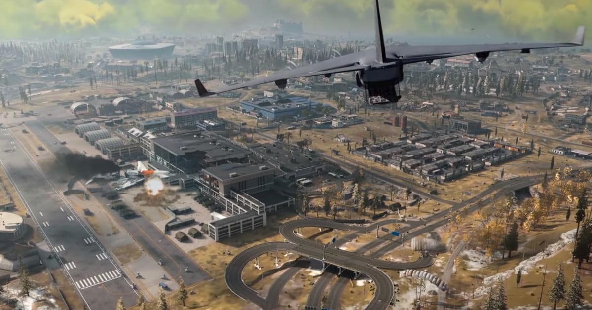 Une carte ressemblant à une bataille royale découverte dans Call Of Duty : Modern Warfare
