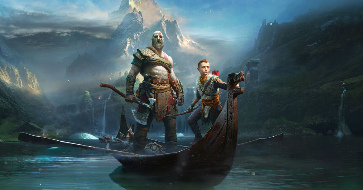 """Une nouvelle bande-annonce révèle que """"God of War"""" sera lancé le 20 avril sur PlayStation 4."""