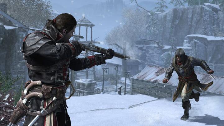 Capture d'écran d'Assassins Creed Rogue Remastered : Fusil VS Assassin