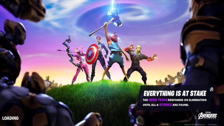 fortnite infinity stones fortnite avengers endgame fortnite thanos